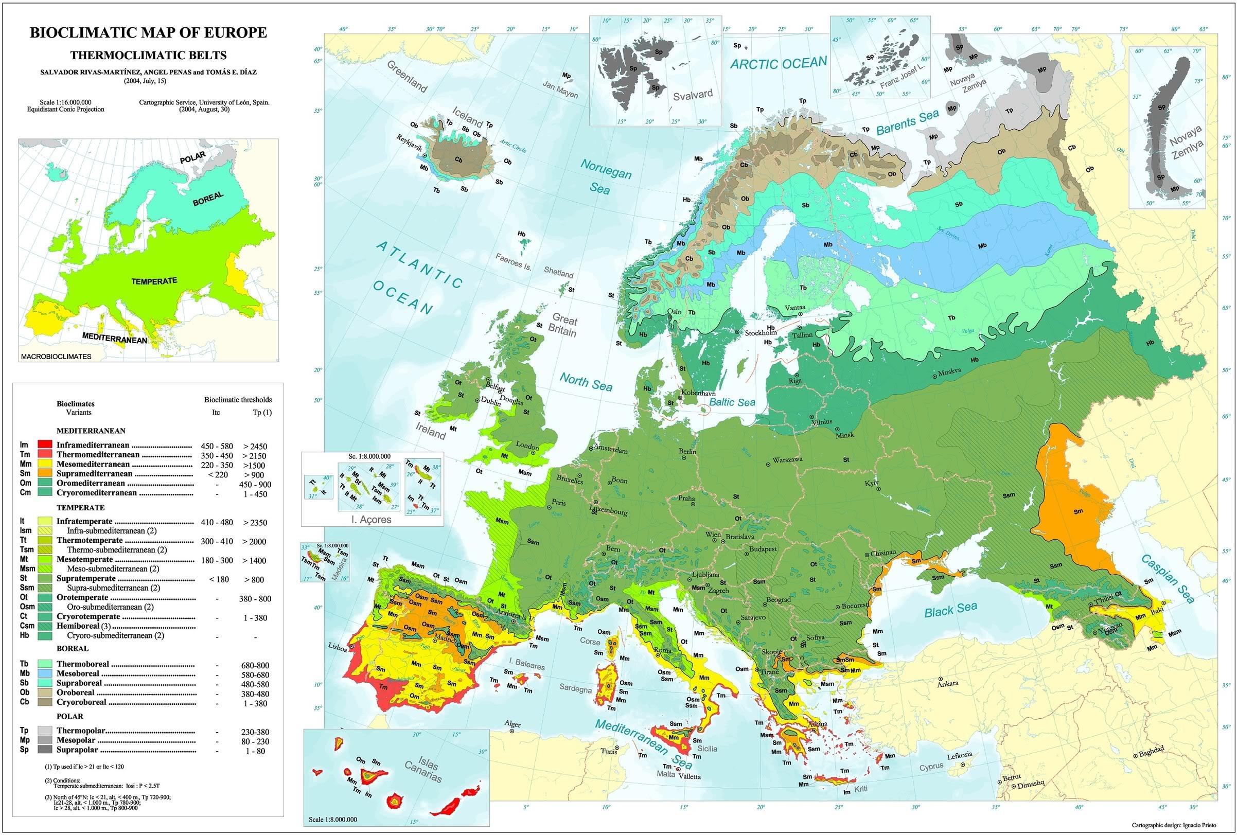 Cartina Muta Europa Laghi Fiumi