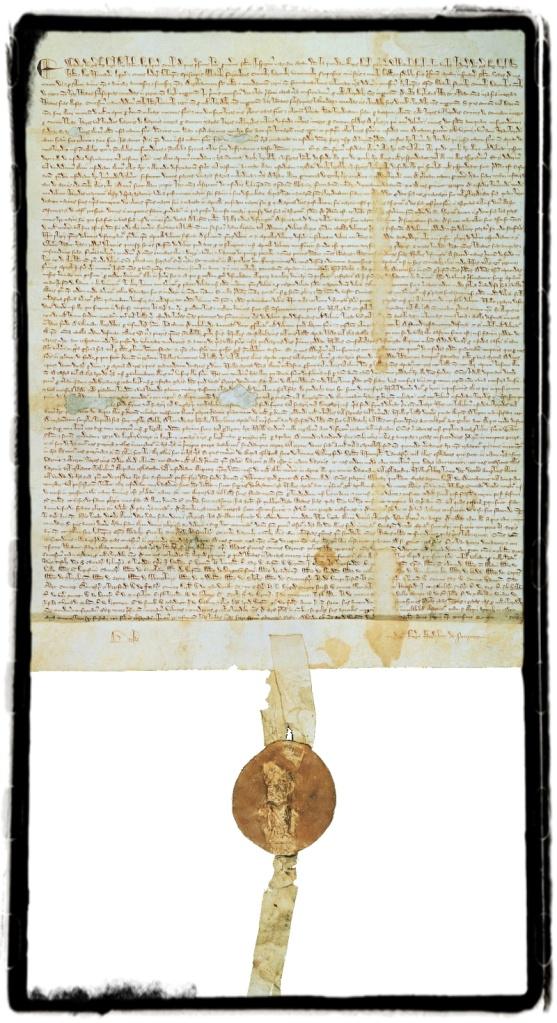Magna Carta Libertatum: l'antenata delle nostre costituzioni moderne, redatta nel 1215.