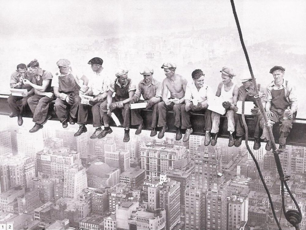 http://www.dailymail.co.uk/news/article-2047853/Lunchtime-Skyscraper-2011-Builders-recreate-Charles-C-Ebbets-1932-photo.html