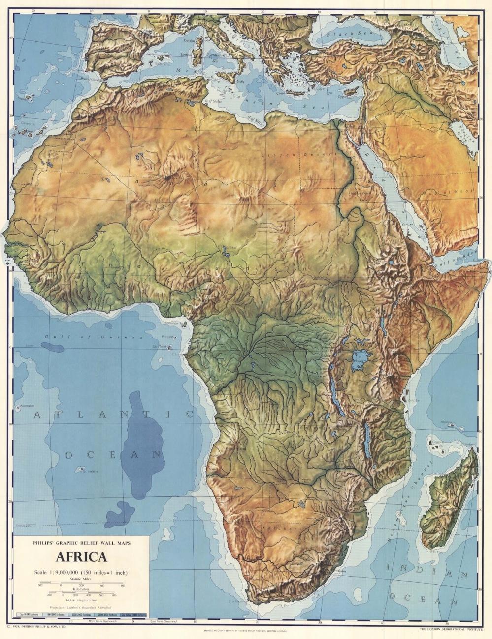 Cartina Muta Dell Africa Fisica.L Africa La Scuola Di Zio Gustavo